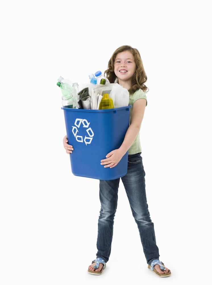 Girl-Recycle